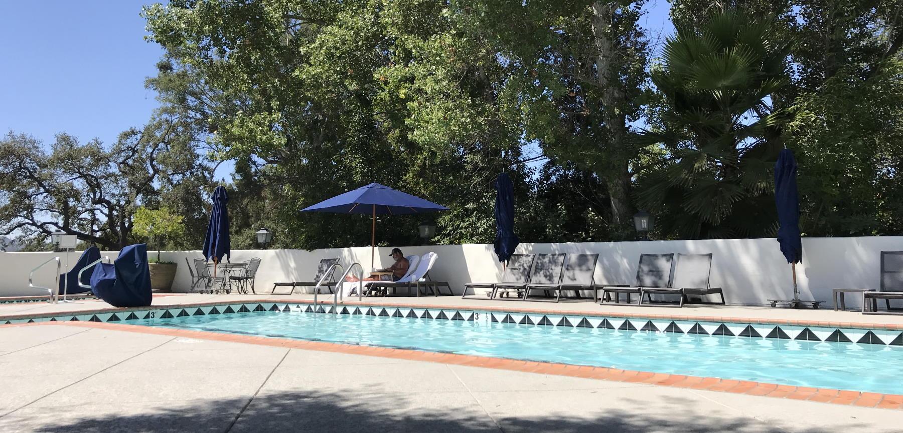 The Energy Pool at the Ojai Vally Inn