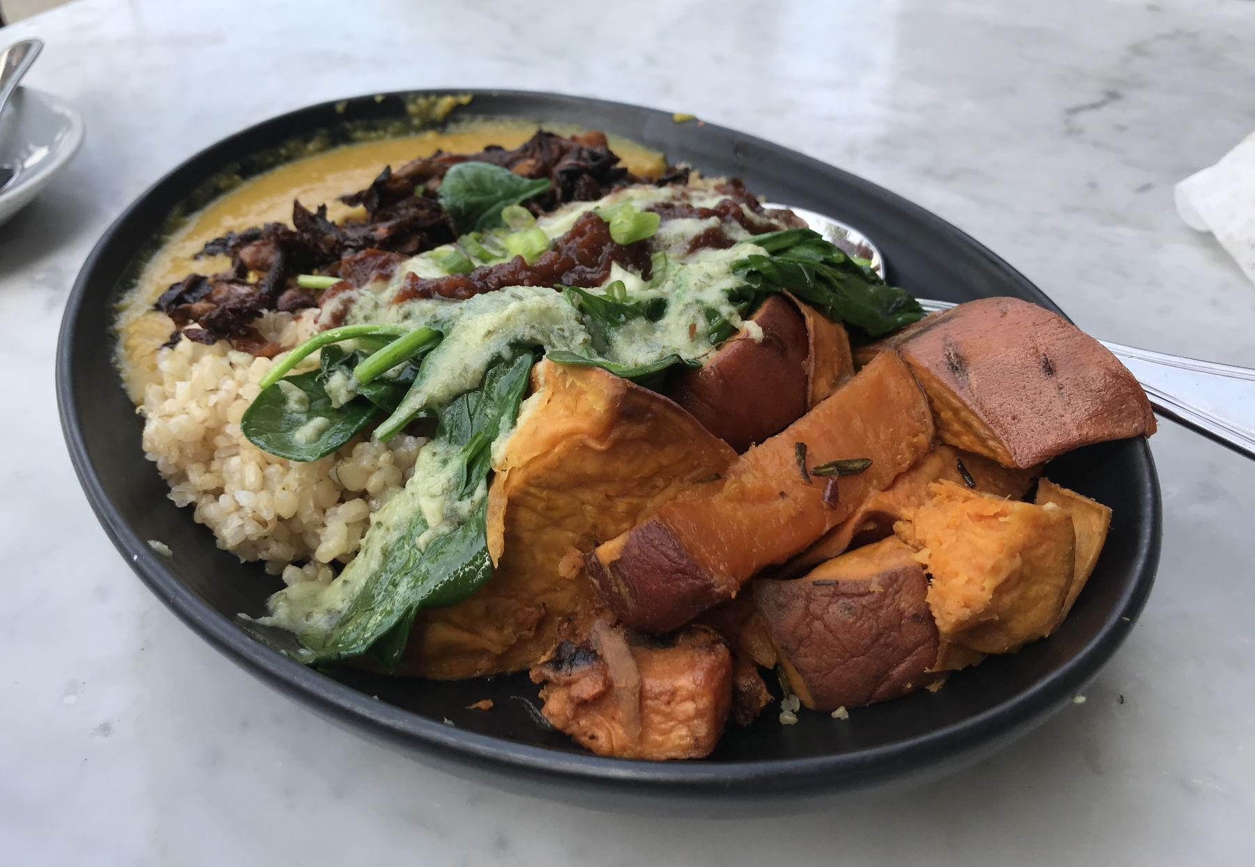 Macrobiotic Bowl at Cafe Gratitude