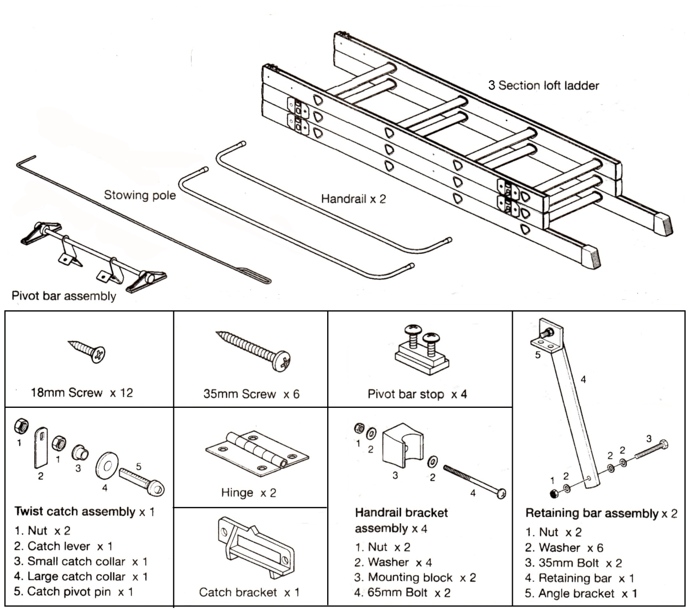 Instructions On How To Fit A Sliding Loft Ladder