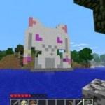 MinecraftのうちのサーバにQBさんがあそびに来たよ!!