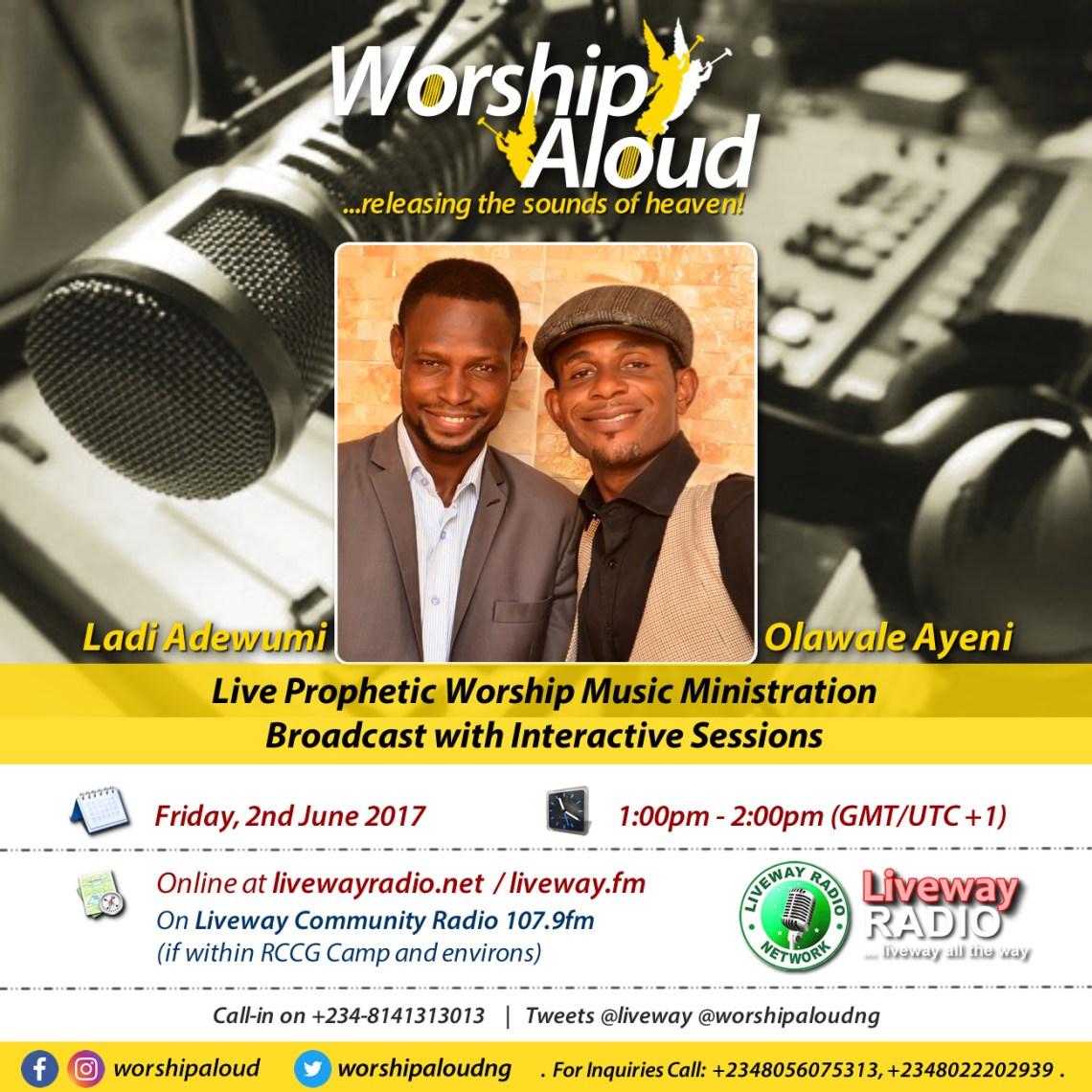 Worship Aloud - Liveway Radio (June 2017)