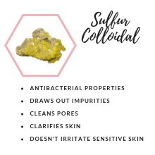 sulfur colloidal, antibacterial, pores, impurities, skin, acne, acne free, beauty, drying lotion