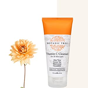 natural skin care face wash vitamin c