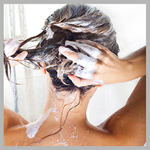 Shampooing your hari