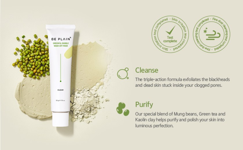 exfoliates blackhead and dead skin cells clogged in pores purify polish impurities