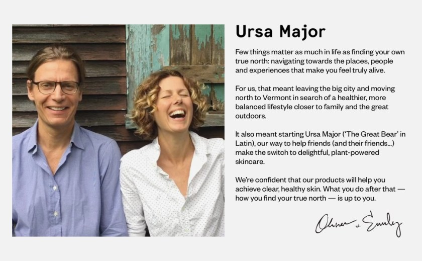 ursa major skincare