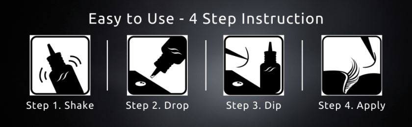 Easy to use 4 step instruction