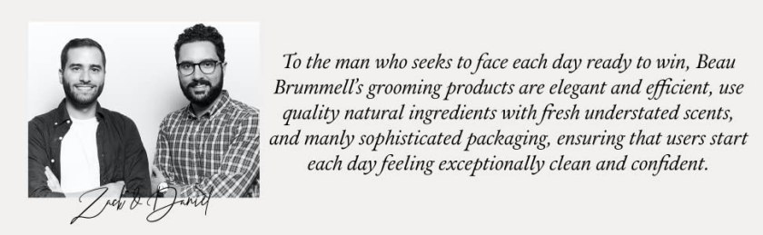 mens beauty and personal care family owned made in USA america united states clean ingredients