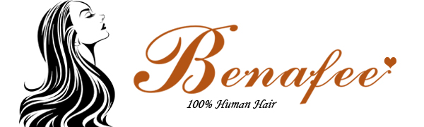 benafee clip in human hair extensions