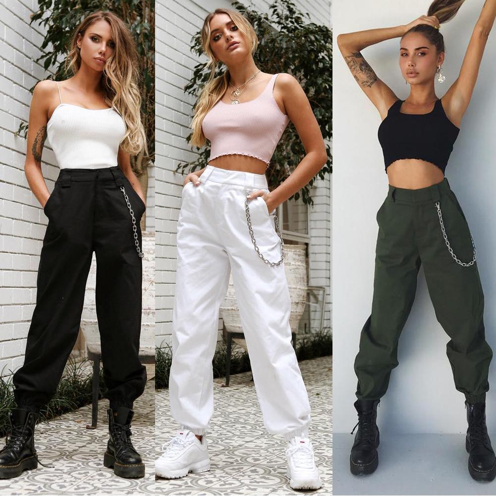 Women High Waist Fashion pant