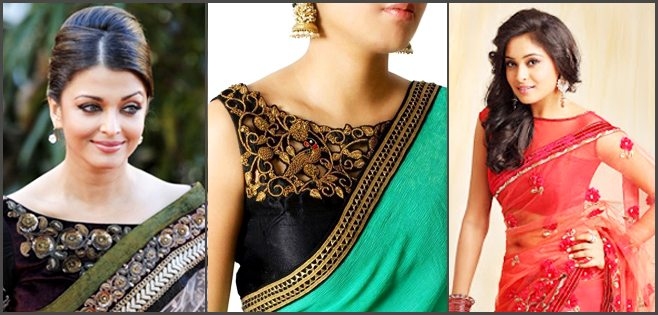 Boat Neck Wedding Blouse Designs Fashion Beauty Mehndi Jewellery Blouse Design