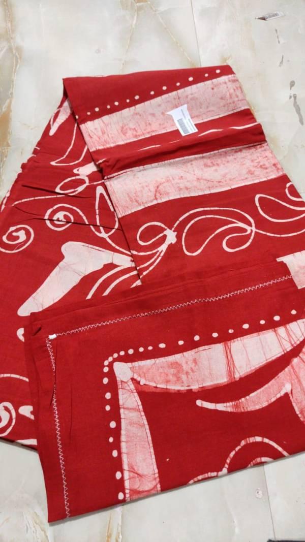 Batik Bedsheet with Pillow
