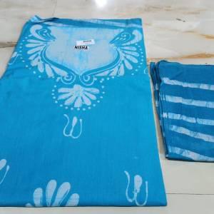 Batik Salwar Material