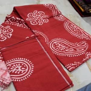 Batik Double Bedsheet