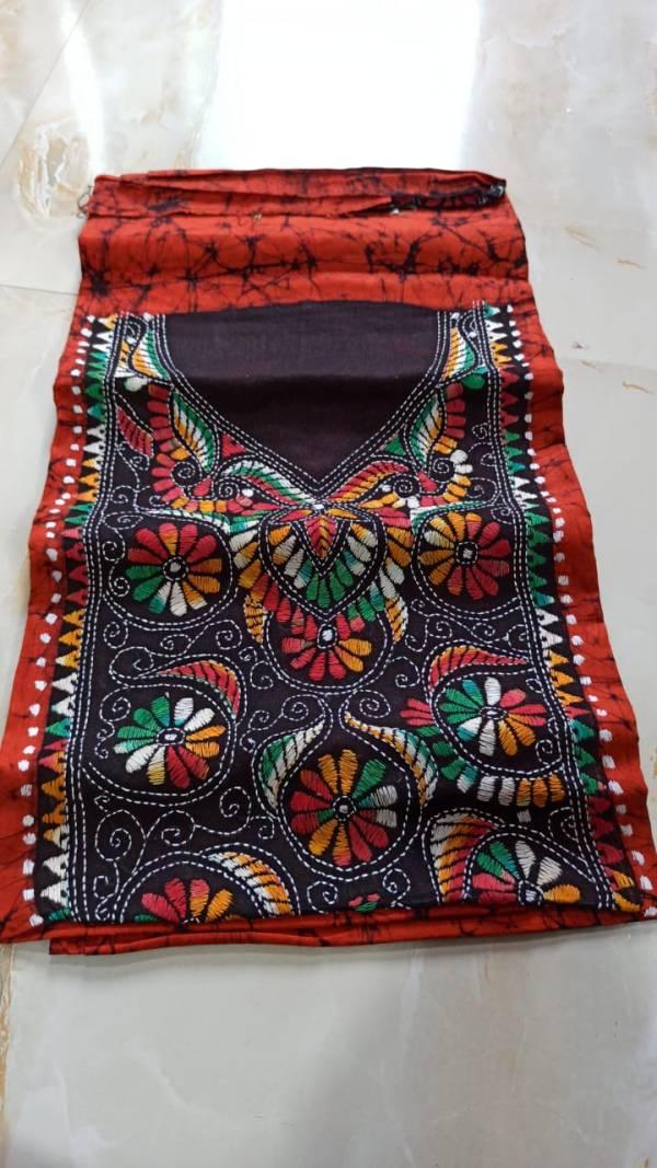 Batik Kantha kurta Material