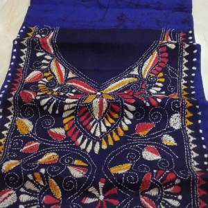 Batik kurta Material