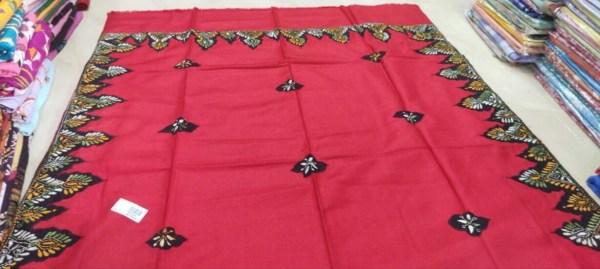 Kantha Stitched Shawl