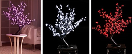 Cherry Blossoms LED Trees for a Magic Atmosphere