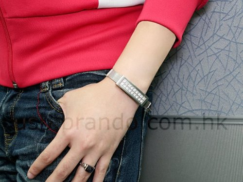 Elegant Bracelet with USB Storage