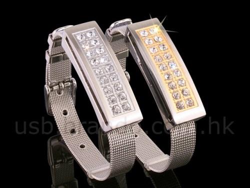 Elegant Bracelet with USB Storage