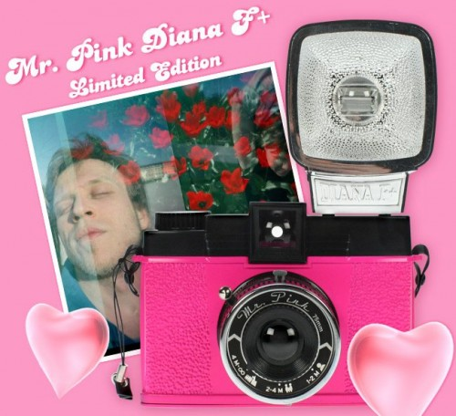 New Diana Camera in Hot Pink