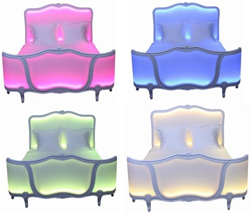 Unique Furnishings: Unique Furniture Items With Colour-Changing LED Lights