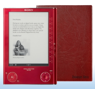 danielle-steel-sony-e-book-reader
