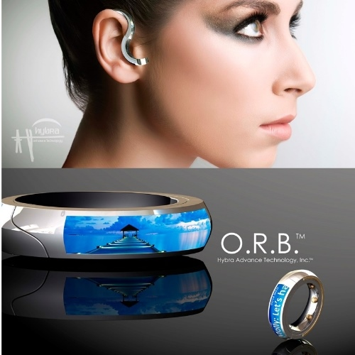 World's First Bluetooth Headset That you can Wear on Your Finger