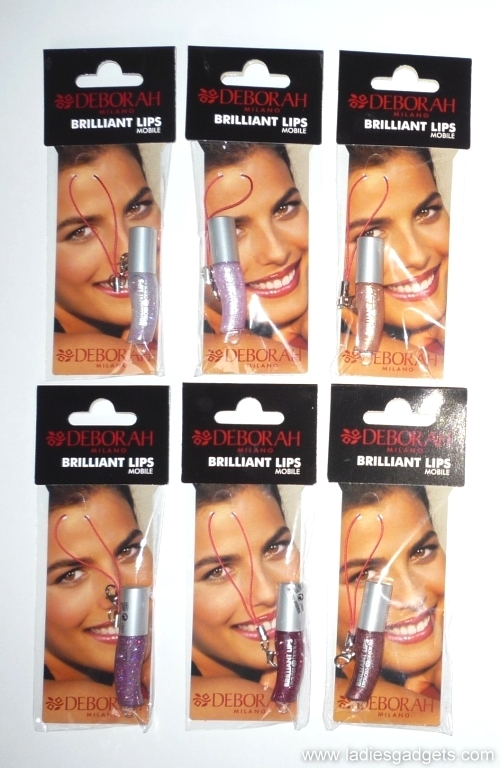 1 Deborah Milano Brilliant Lips Mobile Gloss - Review and Giveaway