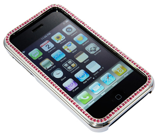 Audrey Charm's Swarovski Bezel Faceplate Cases for iPods and iPhones (4)