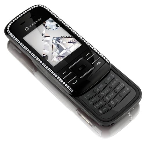 Vodafone VF533 Made by Sagem, Decorated by CRYSTALLIZED - Swarovski Elements (3)