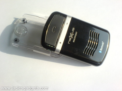 3 The Clip and Talk Bluetooth Car Kit Solar Edition - Review (3)