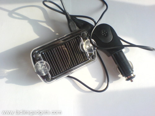5 The Clip and Talk Bluetooth Car Kit Solar Edition - Review (2)