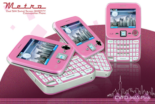 The Pink Edition Metro Cell Phone
