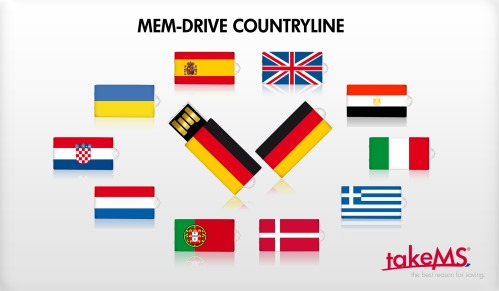 takeMS Launches USB Flash Drives in Countries Flags