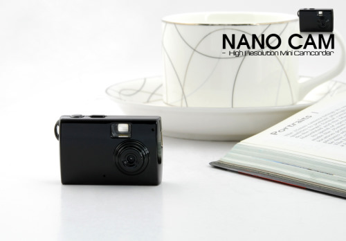 Nano Cam - World's Smallest Digital Camera With Video Recording