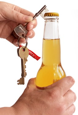 Key Chain Bottle Opener