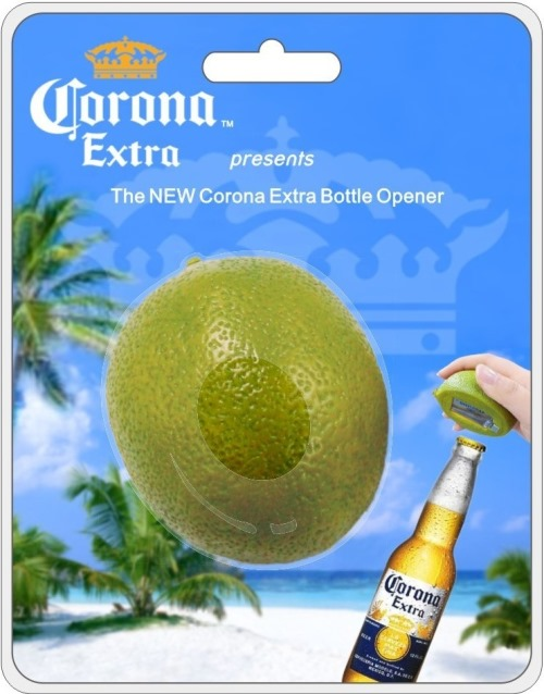 Limer Corona Lime Bottle Opener