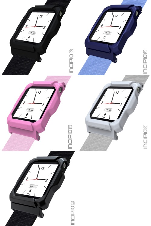 Incipio Linq Holds and Protects the new iPod nano on Your Wrist