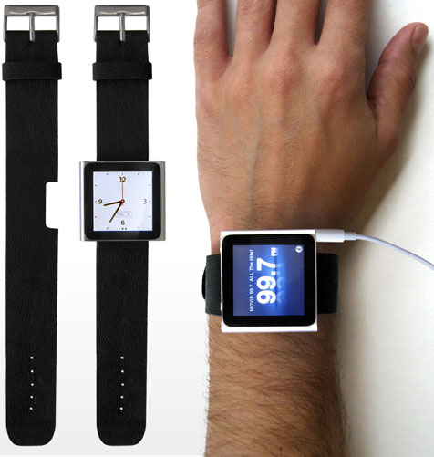 Wear the new iPod Nano as a Wrist Watch