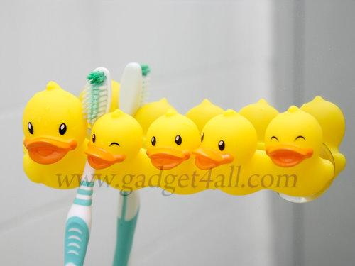 Duck Toothbrush Holder Makes Me Smile