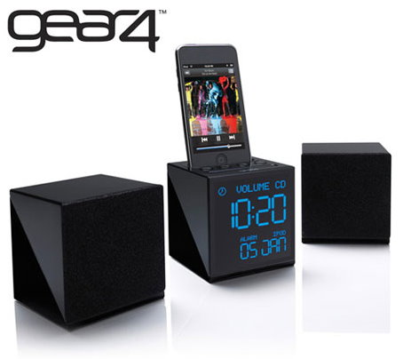 ladies 39 gadgetsgear4 alarm clock radio for your iphone or ipod ladies 39 gadgets. Black Bedroom Furniture Sets. Home Design Ideas