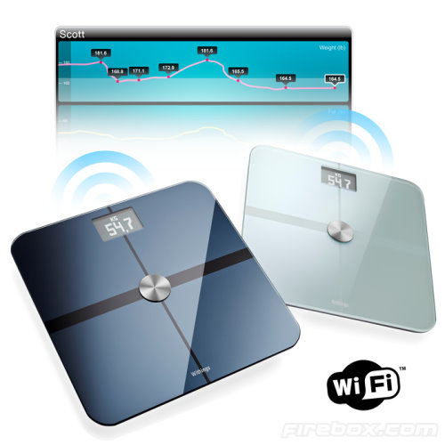 WiFi Scale Shares Your BMI Over Social Sites