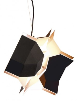 Designer Pendant Light Freezes an Exploding Object