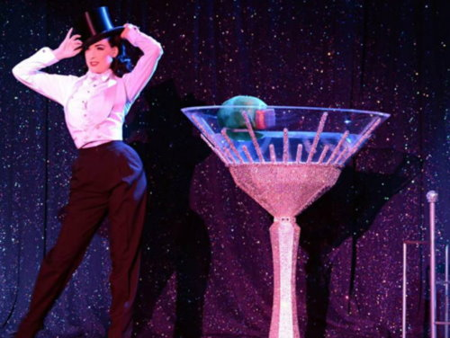 Swarovski Martini Glass for Dita Von Teese s Show