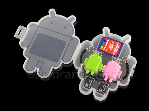 Android Gadget Reads and Writes microSD Cards