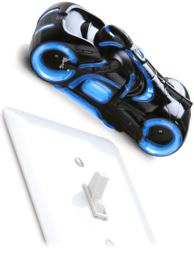 Sam Flynn s Light Cycle From TRON Legacy in RC Version