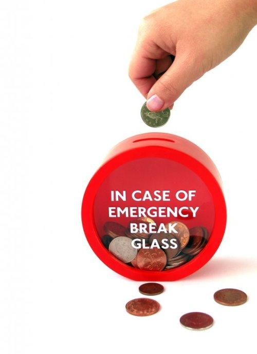 The Emergency Break Glass Money Box