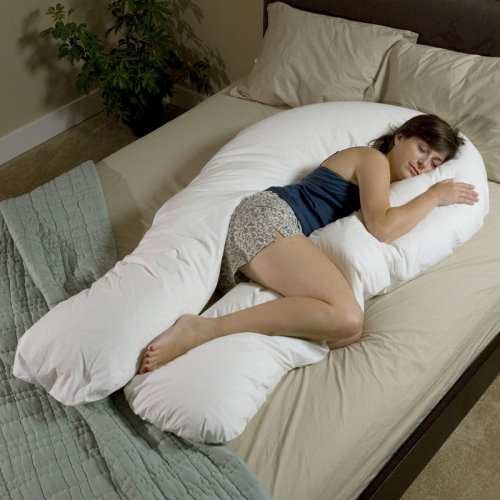 Body Pillow for Sleeping on Side