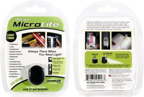 Win a Pop-up MicroLite Adhesive Light
